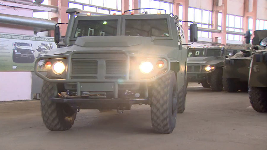 Plated predator: Peek inside Russian plant making Tigr armored vehicle (VIDEO)