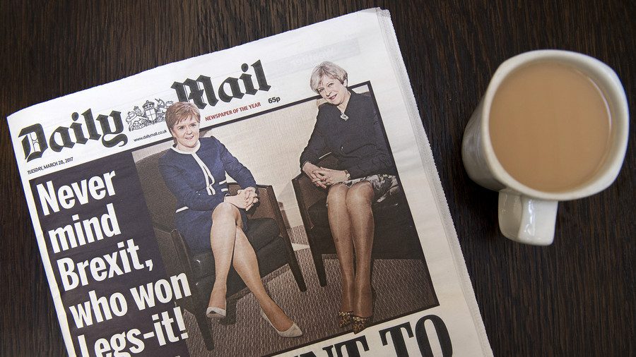 Daily Fail: Profits & shares in Britain's most (in)famous tabloid nosedive