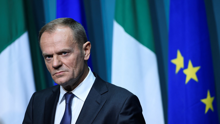 'If Ireland's not happy, we're not happy': Tusk gives Dublin formal veto on Brexit border issue