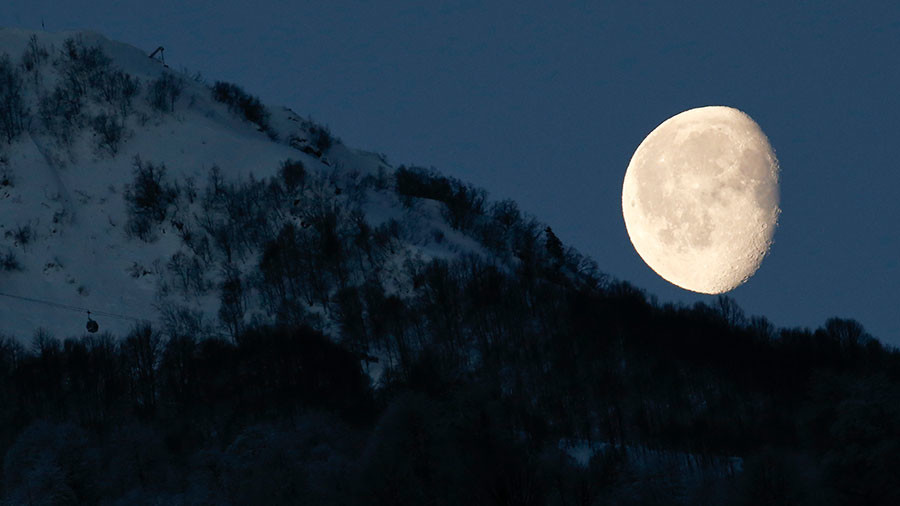 WATCH LIVE 'Supermoon' lights up the night sky for stargazers