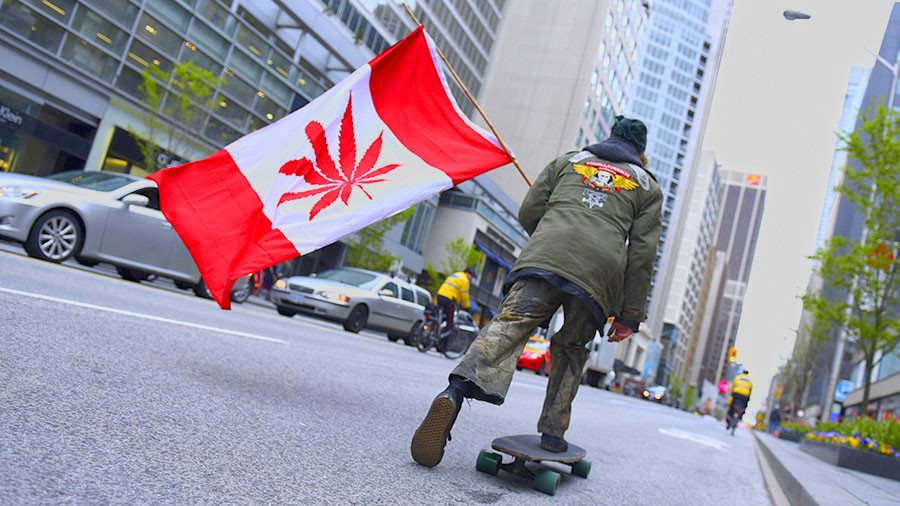Canada could make a fortune from legalized pot  %Post Title