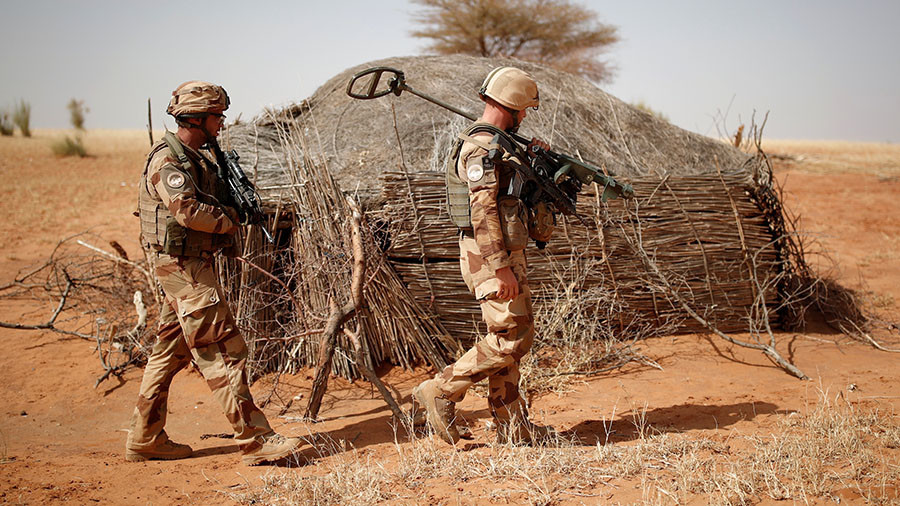 Mali's leader says French troops killed captive soldiers instead of jihadists