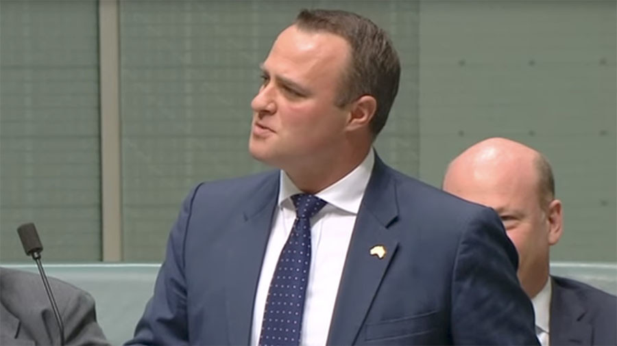 Gay Aussie MP proposes to boyfriend in parliament (VIDEO)