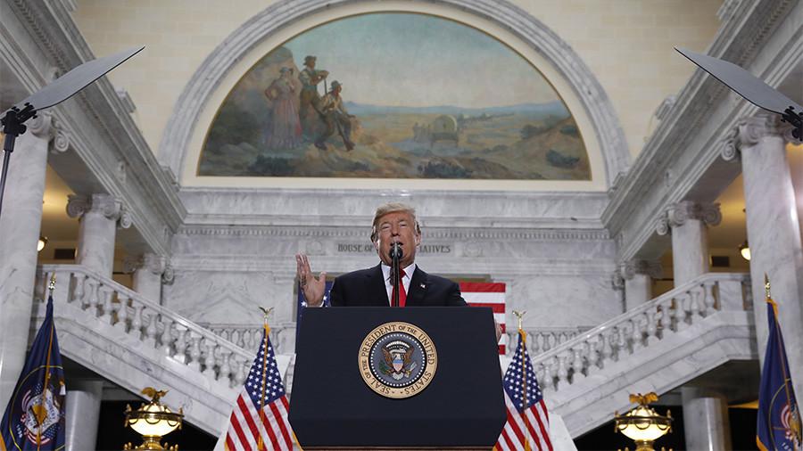 Trump shrinks Bear's Ears monument in Utah in historic decision