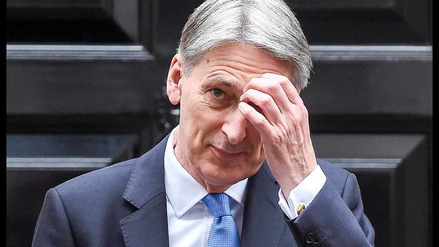 Philip Hammond banned from using military jets until he pays his bill
