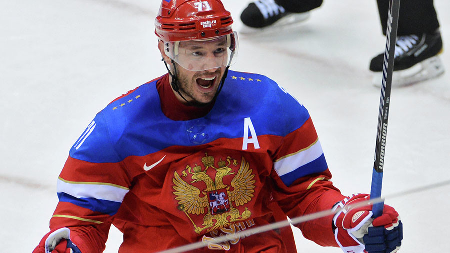 'They took our flag & anthem, but not our honor & convictions!' - Ilya Kovalchuk