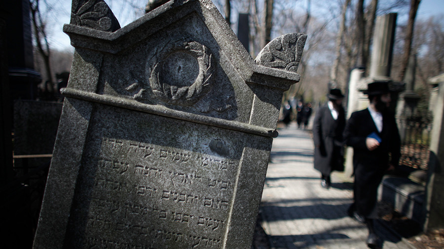 'Full-out scandal' as human remains dug up near old Jewish cemetery in Poland