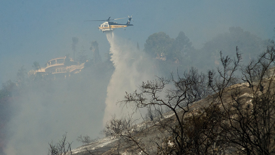 'Extreme' fires in Southern California devour Murdoch's estate
