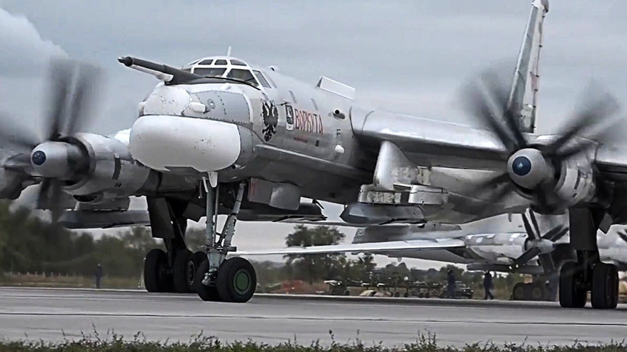 Nuclear-capable Russian Tu-95 bombers in 1st-ever Pacific patrol from Indonesia (VIDEO)