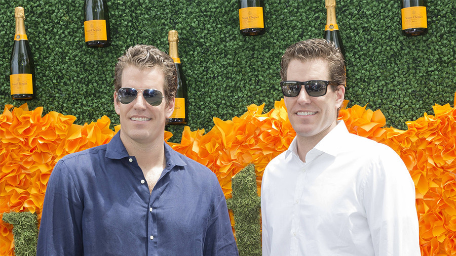 New bitcoin billionaire Winklevoss sees cryptocurrencies heading much higher