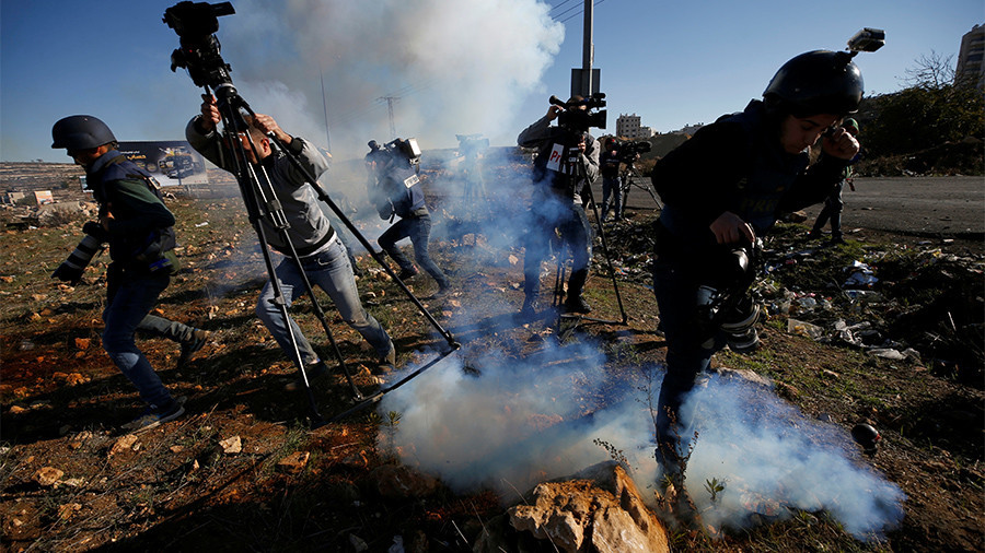 Israeli police use tear gas in clashes with Palestinians in Bethlehem   %Post Title