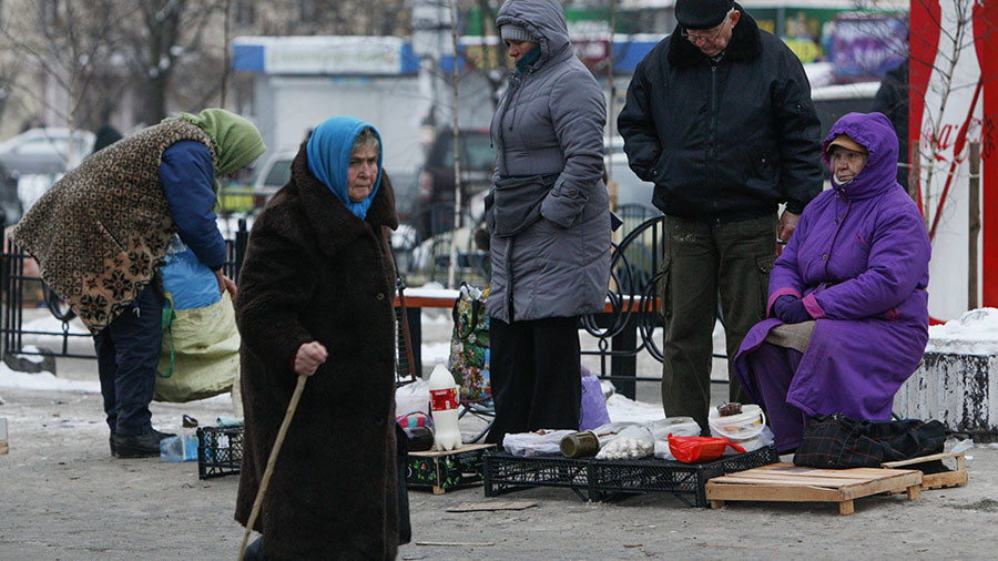 Ukraine is Europe's poorest nation with $220 average monthly wage