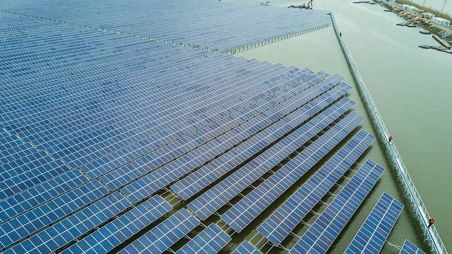 China to create world's largest floating solar power plant in move to clean energy