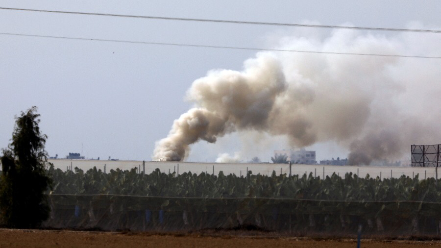 Israel army attacks Hamas positions in Gaza after rockets launched from enclave  %Post Title