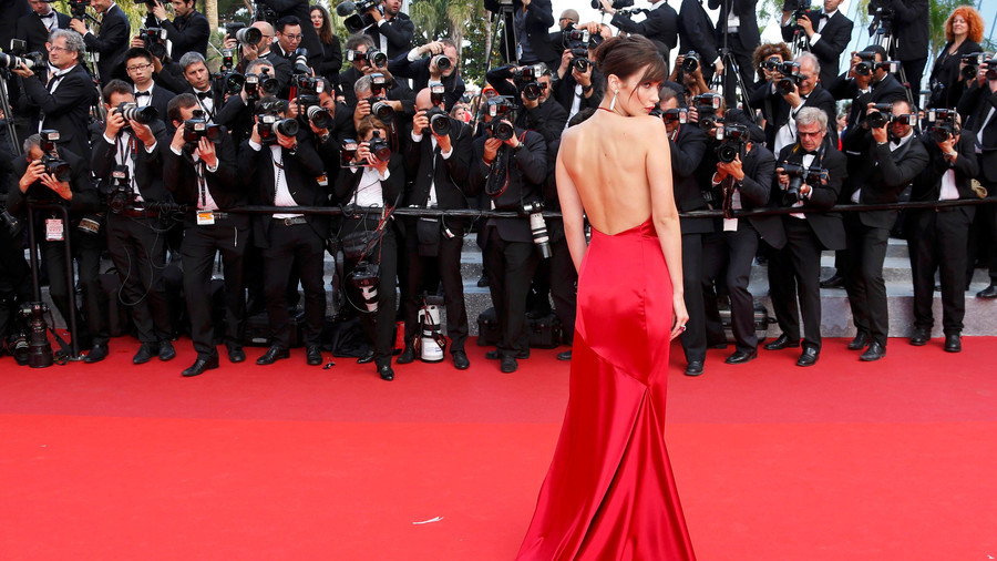 Supermodel Bella Hadid wows fans after joining Palestine rally in red party dress