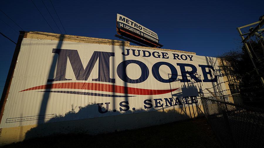 12yo 'Trump Girl' interviews Roy Moore before Alabama election