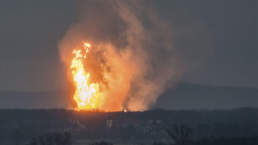Explosion at major gas pipeline in Austria