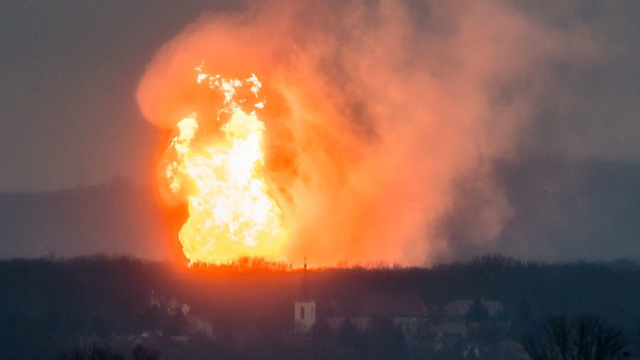 Image result for Explosion at major Austrian gas hub, one dead, An explosion rocked one of Europe's