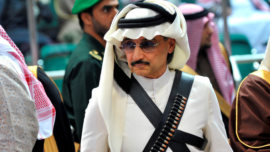 Arrested Saudi prince's business empire apparently collapsing