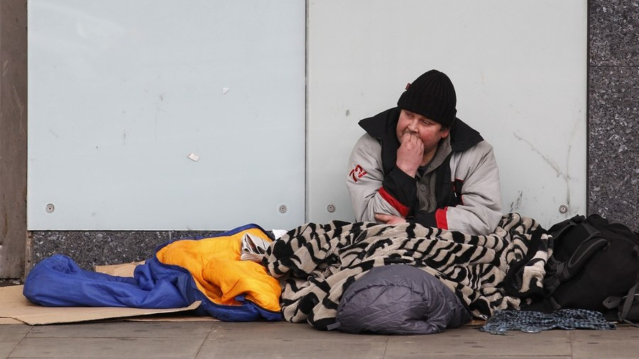 Theresa May uses deceptive stats to claim homelessness has fallen under Tories (VIDEO)