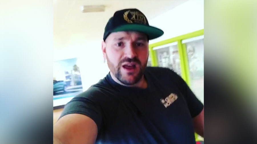 'F*** you Eddie!' - Tyson Fury's four-letter message to Joshua promoter after ban clearance