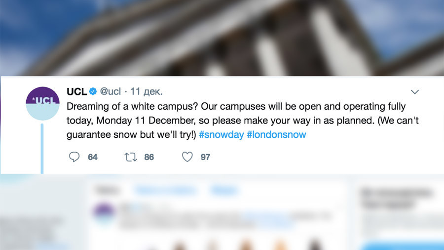 'Snowflake students' get University to apologize for calling snow white