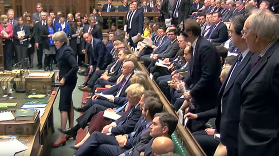 May's Commons defeat: 'Humiliation' after 'govt used Brexit deal to get dictatorial powers'