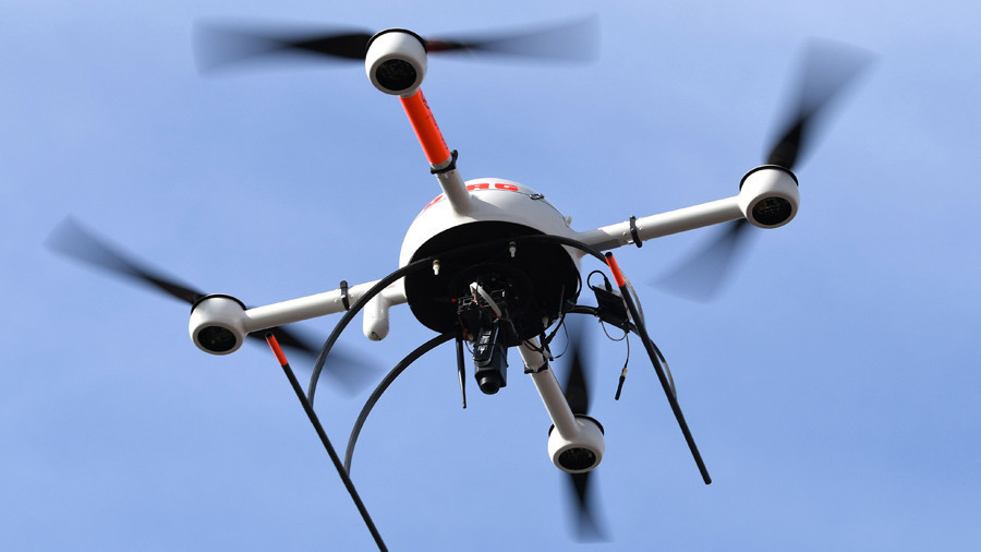 Drone operator errors caused drone, helicopter collision