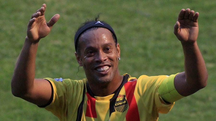 Hoton Ronaldinho daga Reuters