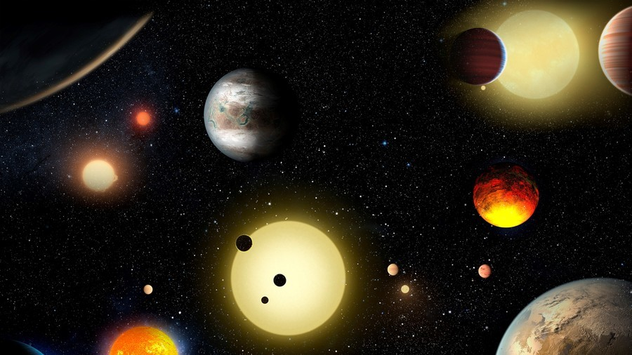 NASA finds another solar system with eight planets, just like ours