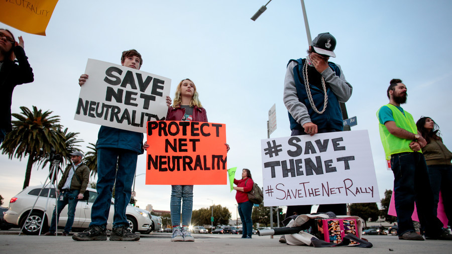 Net-neutrality rollback: Tech giants blast threat to 'freedom & innovation'