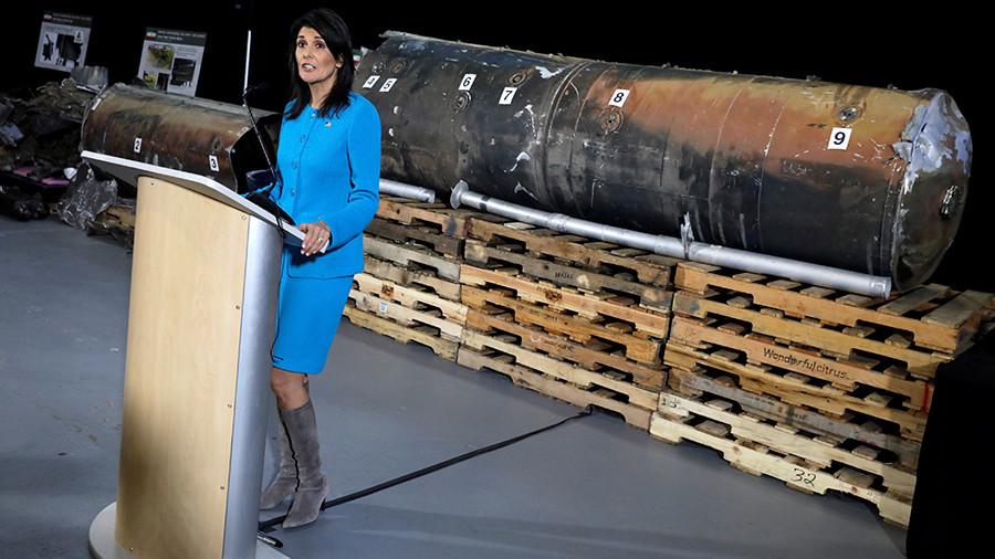 Haley slammed for attacking Iran's 'lawless behavior' while ignoring plight of Yemeni civilians