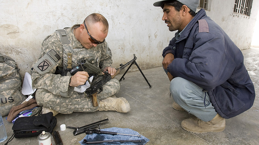 Buy American, drop Russian freebies: US leans on Kabul over Kalashnikovs