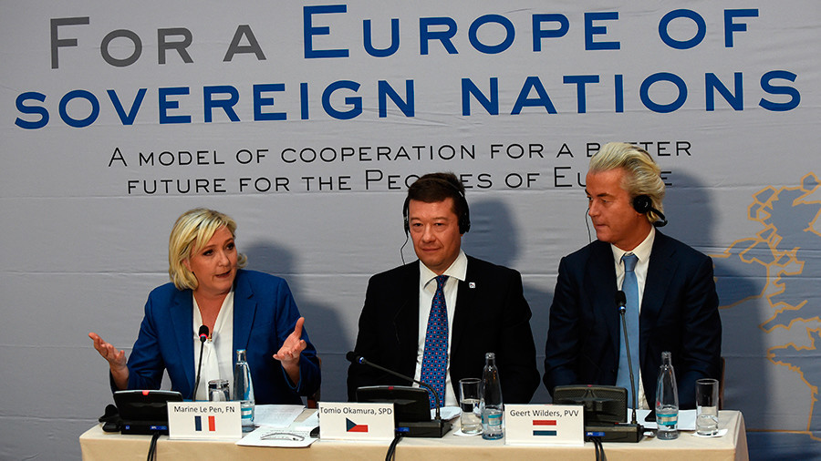 European Populist Leaders Praise Trump, Call For End Of EU