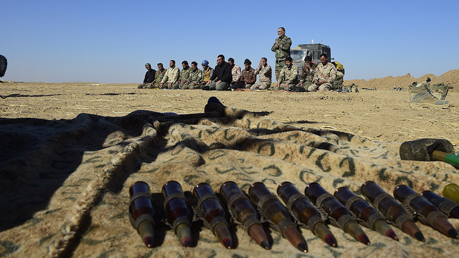 Journalist reveals how arms experts tracked down illicit US supplies to Iraq ISIS workshop