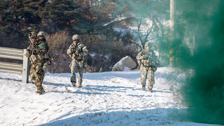 Search & destroy: US military releases photos of joint drills for removing North Korea's WMD