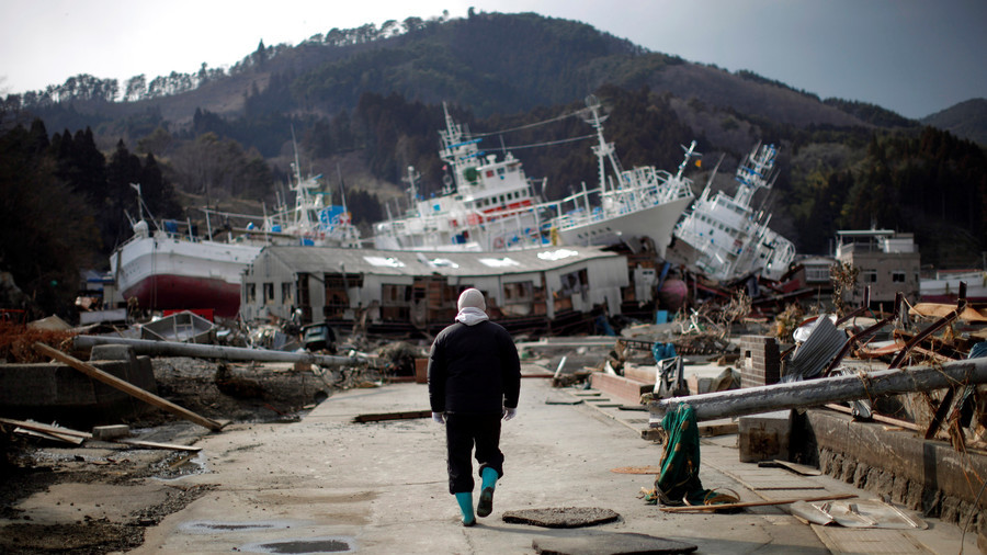 'Super-gigantic' quake & tsunami could strike Japan in next 30yrs