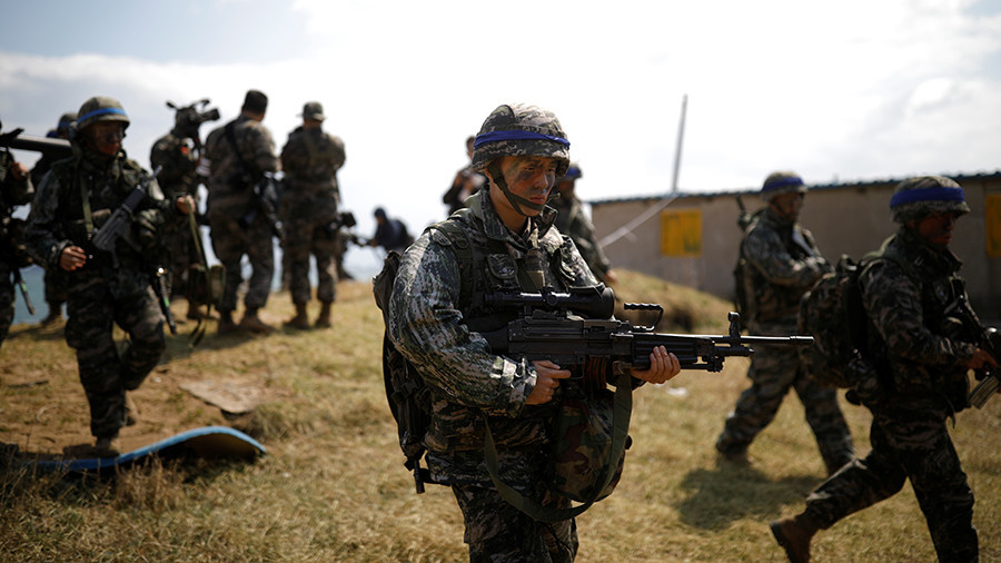 South Korea asks US to 'review possibility of postponing' joint drills until after Olympics
