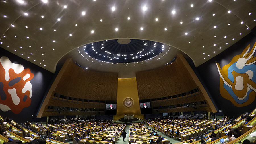 76 UN members abstain & 26 vote against as Crimea human rights resolution passes