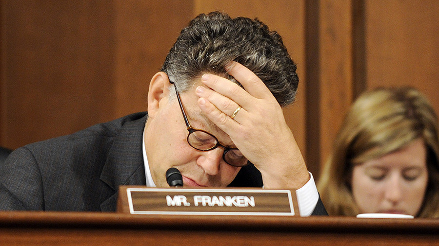 Putin 'wanted Franken out of Senate,' anti-Trump 'resistance' claims