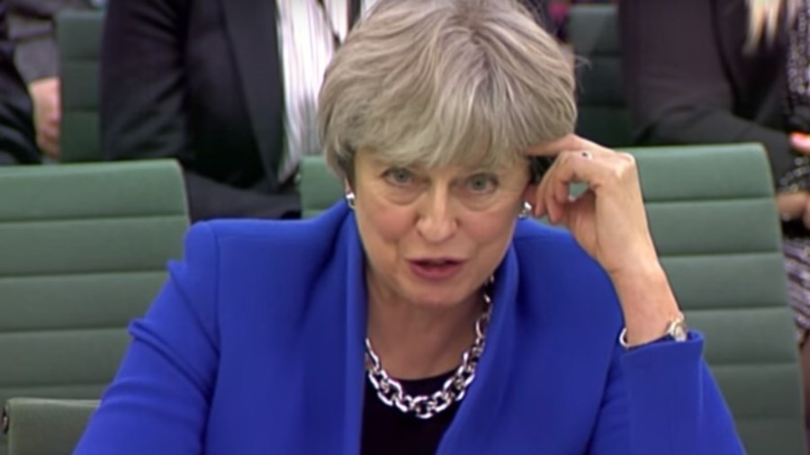 'I have not begged' Furious Theresa May denies UK went cap in hand to the EU