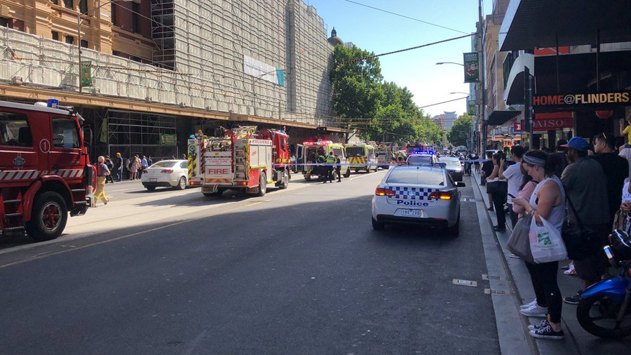 19 people injured as car 'deliberately' hits pedestrians in Melbourne