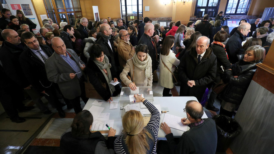 Separatists & unionists face off in election that could decide Catalonia's future