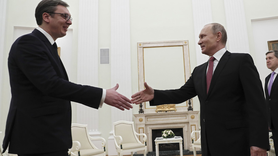 Balkans trap: As Serbian president goes to Russia, US plots to 'finish the job'
