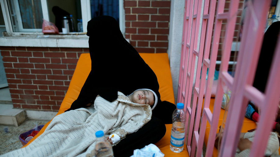 Suspected cholera cases in Yemen hit one million: ICRC