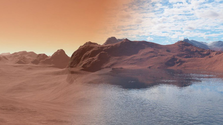 How did Mars lose its oceans? Scientist may have cracked the mystery