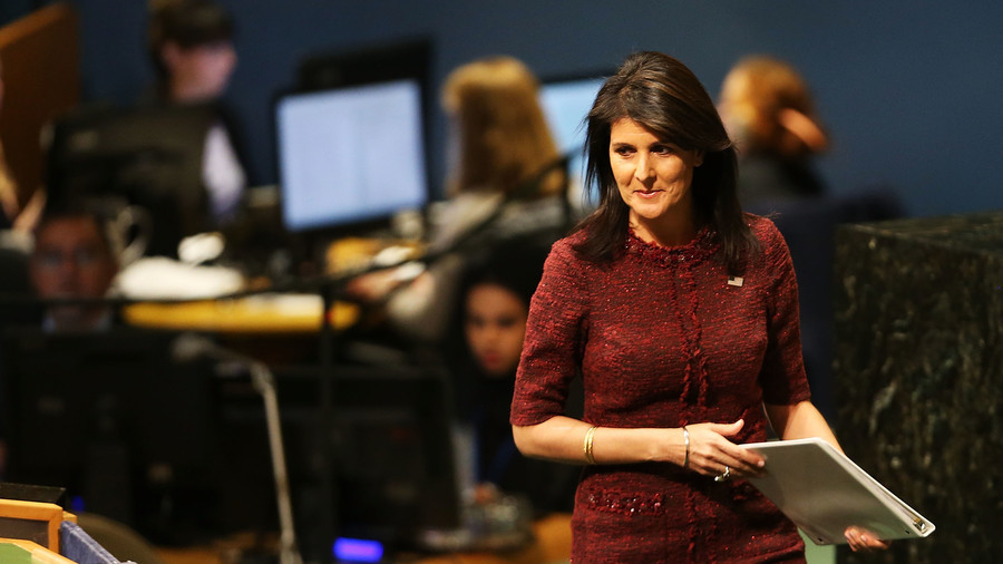 US makes large contributions to UN, expects to be respected – Haley to UNGA