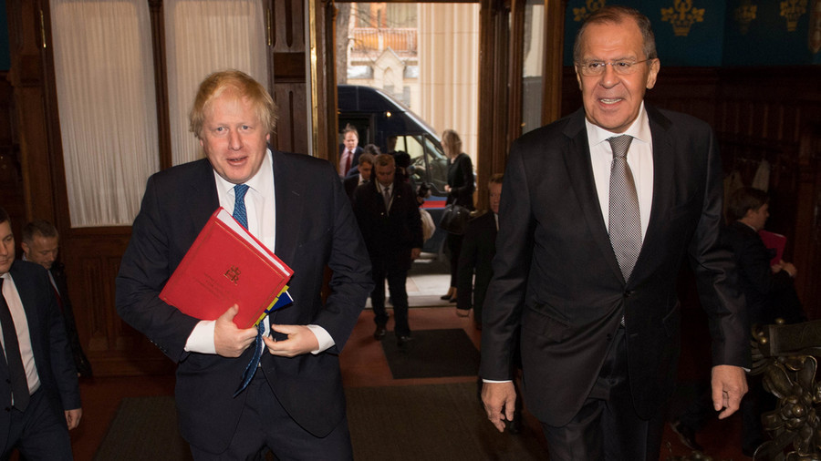 Boris Johnson the 'committed Russophile' goes native on first official trip to Moscow