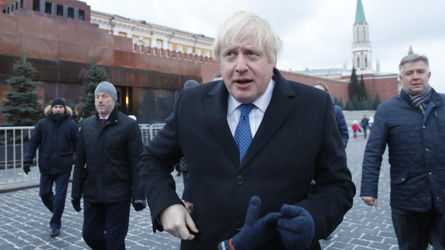 'Measure of my trust': Johnson has no problem handing Lavrov his coat with secrets