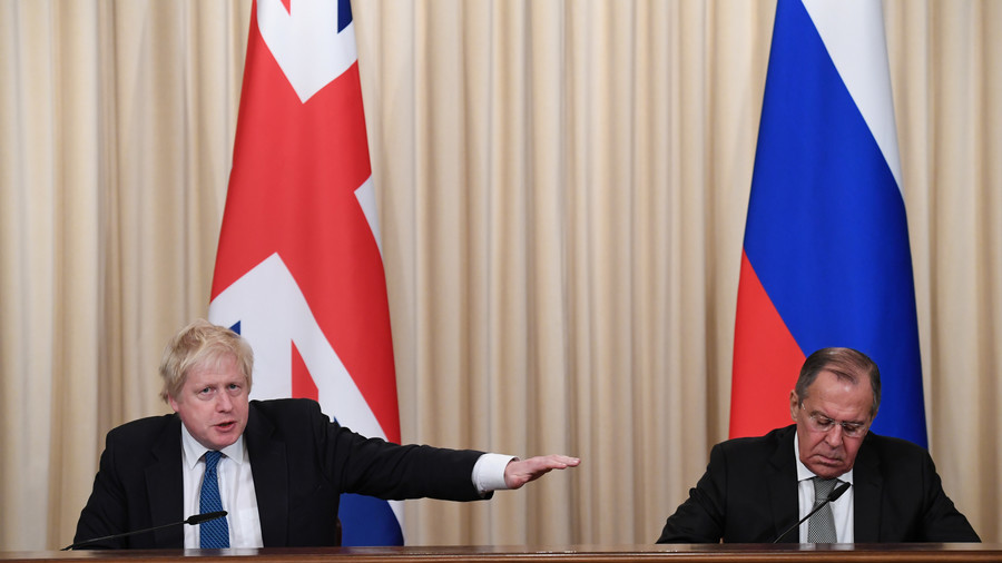 UK Foreign Secretary Boris Johnson clears up his USSR-Sparta comparison (VIDEO)